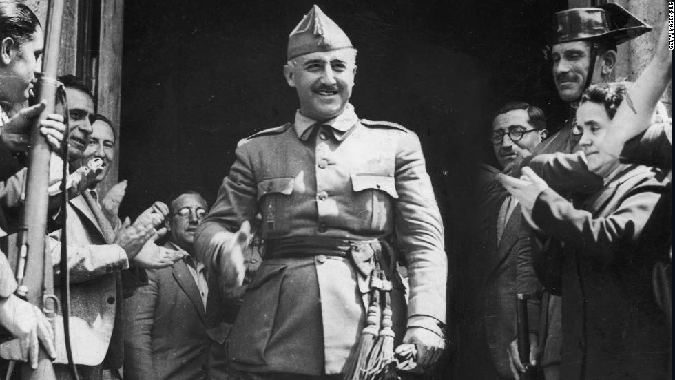 General Francisco Franco, named generalissimo or supreme commander a little more than a week earlier, is made leader of Spain's new Nationalist regime on October 1, 1936.