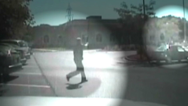 Dashcam video shows temple shootout