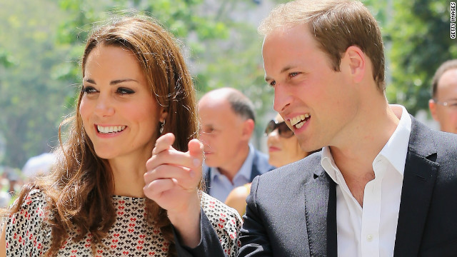 William and Catherine head to Malaysia