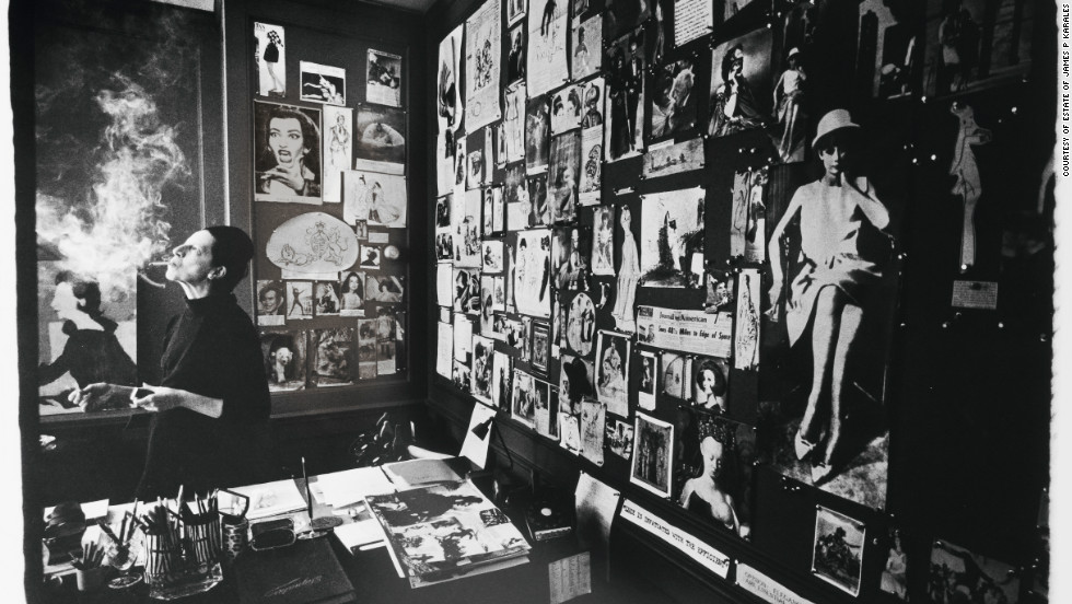 """Diana Vreeland worked at Harper's Bazaar for 25 years as fashion editor. She then took over as the editor-in-chief of Vogue until 1971. """"I think I always had a perfectly clear view of what was possible for the public. Give 'em what they never knew they wanted,"""" said Vreeland of her job as editor."""