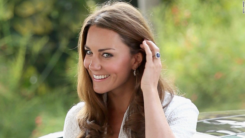 Catherine, Britain's Duchess of Cambridge, arrives at Gardens by the Bay Wednesday in Singapore.