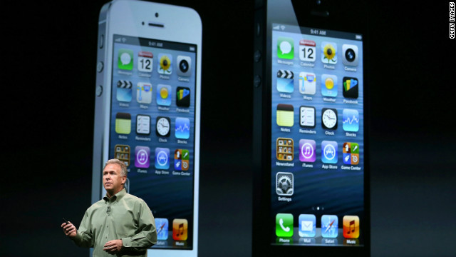 Apple unveils the new iPhone 5