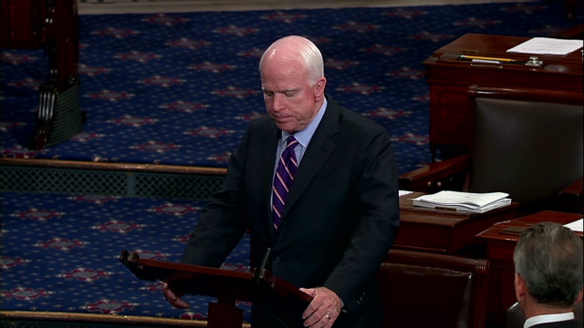 McCain: 'Their enemies are our enemies'