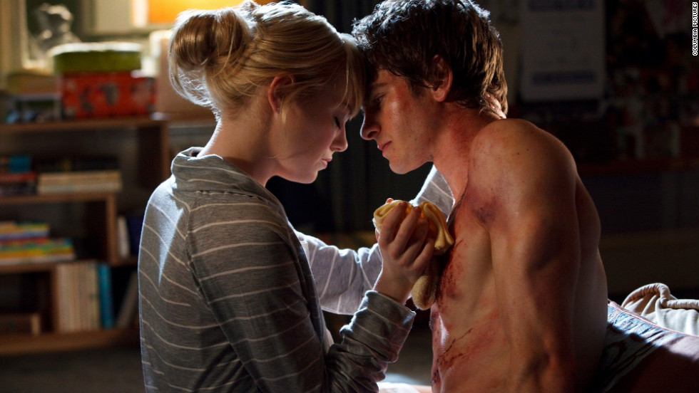 """The Amazing Spider-Man"" brought Emma Stone and Andrew Garfield together. The pair also co-star in the sequel, due out in May."