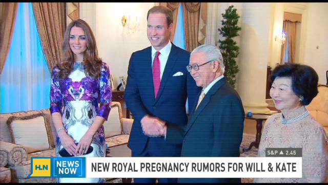 Kate Middleton pregnancy rumors rev up