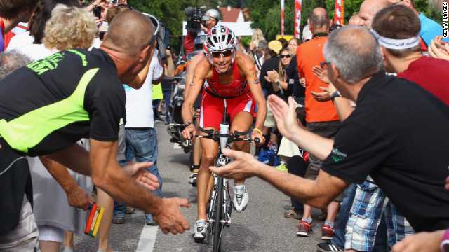 Ironman champ: 'Your mind matters more'