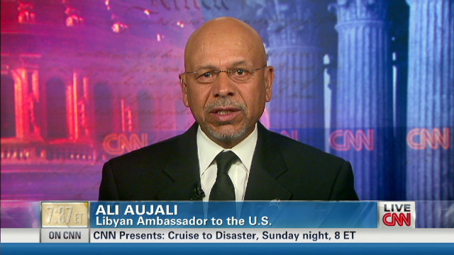 Aujali: Libyans 'shamed' by attacks