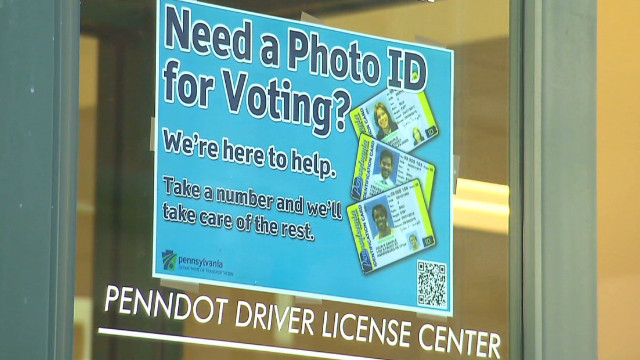 Voter ID law under fire in Pennsylvania