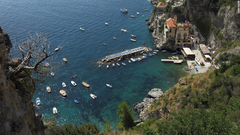 Soaking up the scenery should be your main objective on the Amalfi Coast.