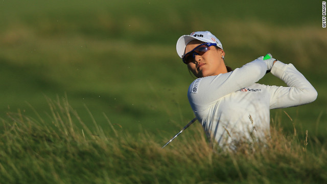 South Korea's So Yeon Ryu is joint-leader after the opening round of Women's British Open at Hoylake