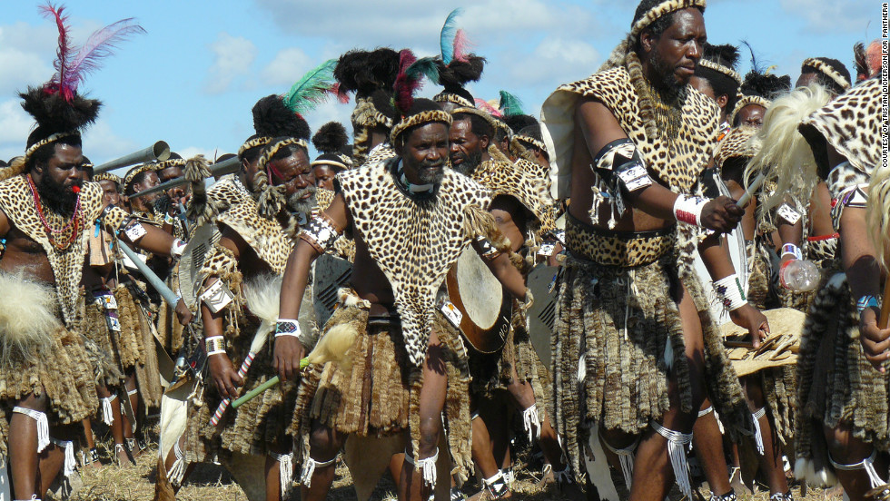 Followers of Shembe have not been satisfied with fake furs as alternatives to leopard skins.