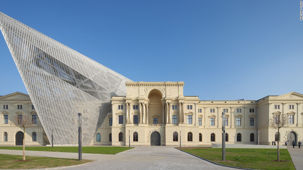 Daniel Libeskind's redesign for the Military History Museum in Dresden is his favorite work.