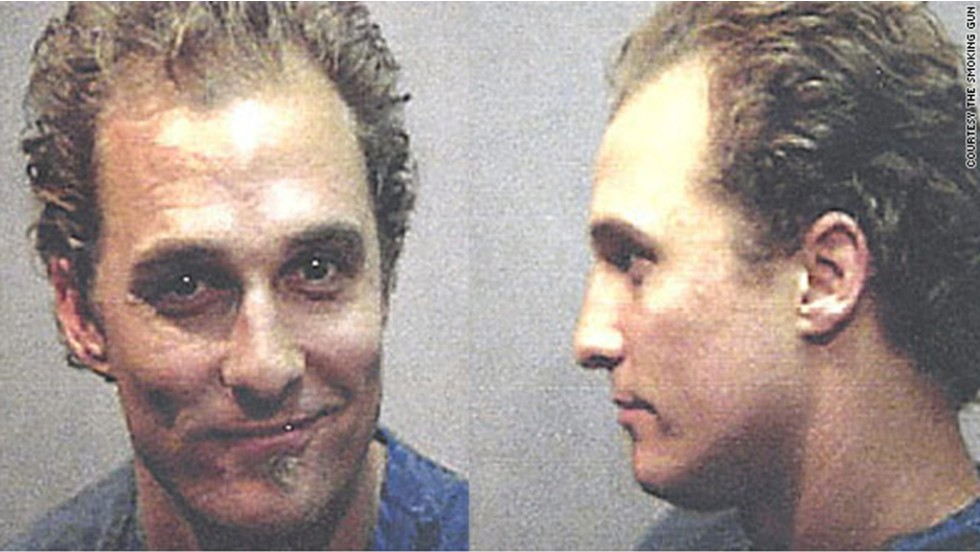 Matthew McConaughey was arrested in Austin, Texas, in 1999 after police allegedly found him dancing naked and playing bongo drums in his house. He paid a $50 fine for disturbing his neighbors with the show.