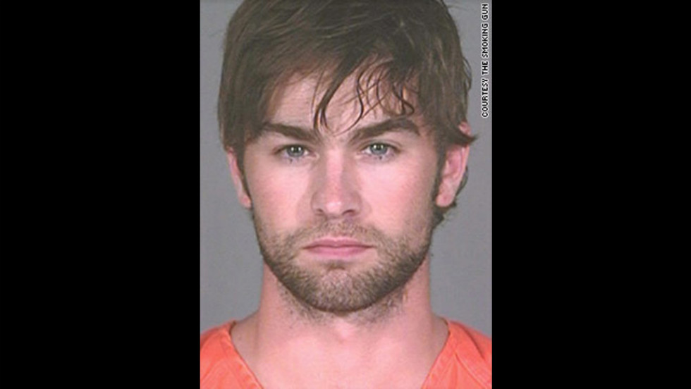 """Gossip Girl"" star Chase Crawford was arrested in June 2010 in Austin, Texas, and charged with possession of marijuana. He was charged with a misdemeanor because he had less than 2 ounces, according to a police report."