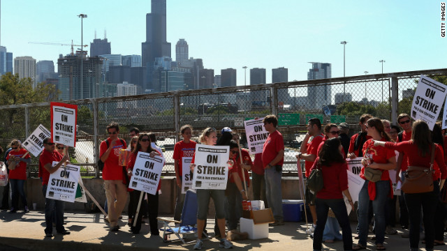 Pedro Noguera says striking Chicago teachers must confront the need for improved teaching and outcomes for lagging students.