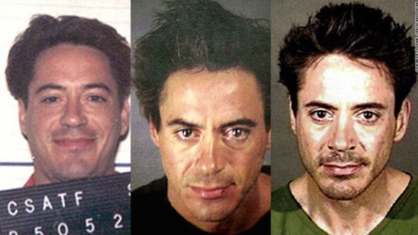 Robert Downey Jr.'s drug problems have been fodder for the tabloids for decades -- he served time in the late 1990s on a drug conviction, was arrested in November 2000 for drug possession, and was busted again in April 2001 in Cluver City, California.