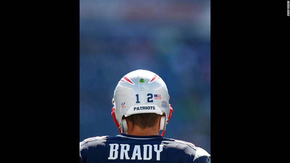 Quarterback Tom Brady of the New England Patriots practices before Sunday's game against the Arizona Cardinals.