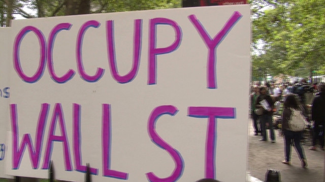 2011: Occupy Wall Street begins
