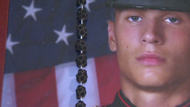 Family: Marine knew Afghan would kill him
