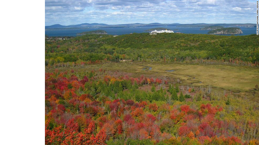 The Great Meadow is part of Acadia National Park, the first national park east of the Mississippi River.