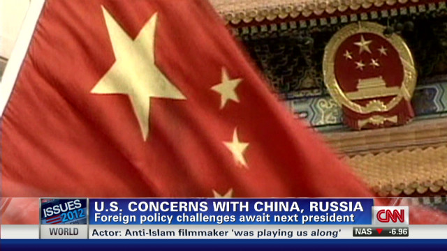 Romney and Obama on China and Russia