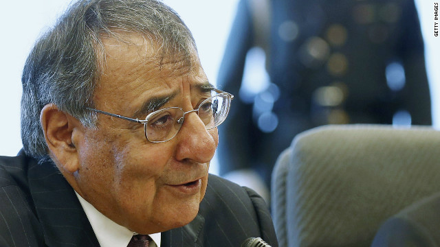 U.S. Secretary of Defense Leon Panetta talks while in meeting with Japan's Minister of Defense Satoshi Morimoto at the Ministry of Defense on September 17, 2012 in Tokyo, Japan. Panetta is on the first official stop of a three nation tour to Japan, China and New Zealand.