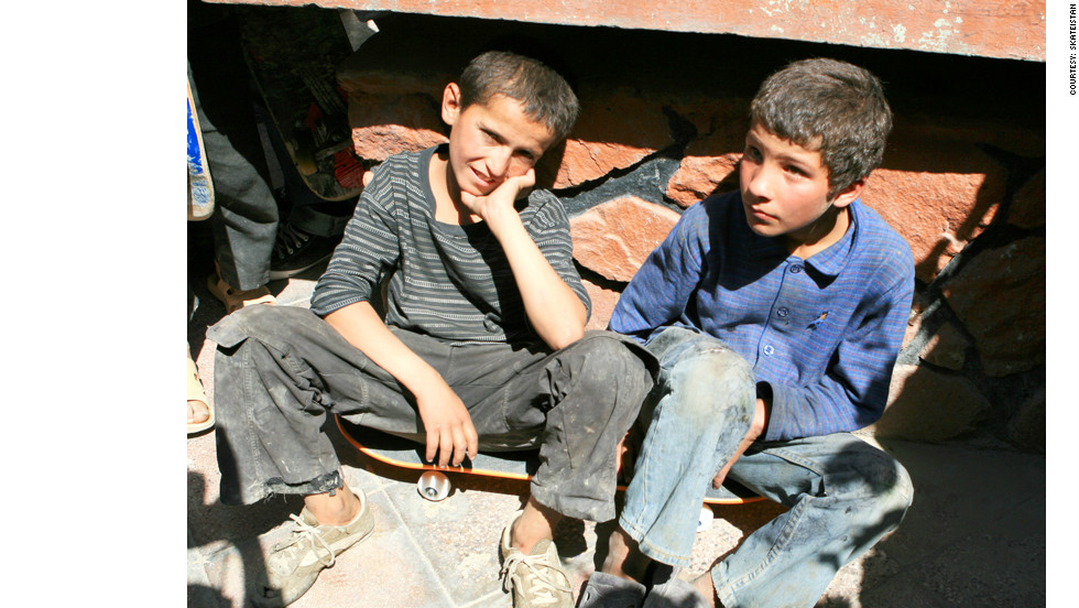 "Mohammad Eeza (pictured on the left) was just 13 when he was killed. The <a href=""http://www.skateistan.org/blog/tragic-loss"" target=""_blank"">Skateistan website </a>says his teachers will remember him as an enthusiastic and keen young student."