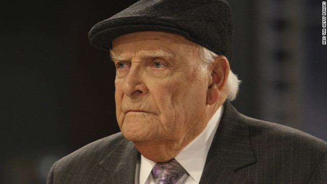 "Actor John Ingle played patriarch Edward Quartermaine on the ABC daytime soap opera ""General Hospital."""