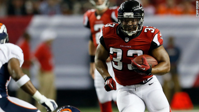 Falcons running back Michael Turner was arrested last week.