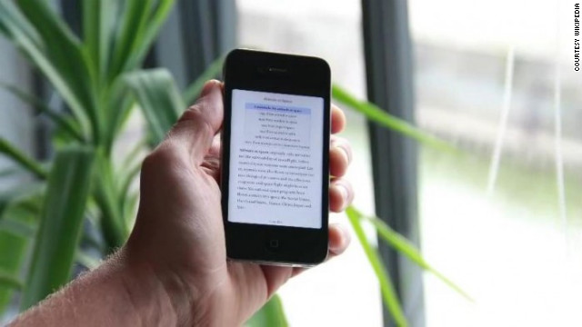 Wikipedia this week unveiled a new feature that lets readers generate e-books.