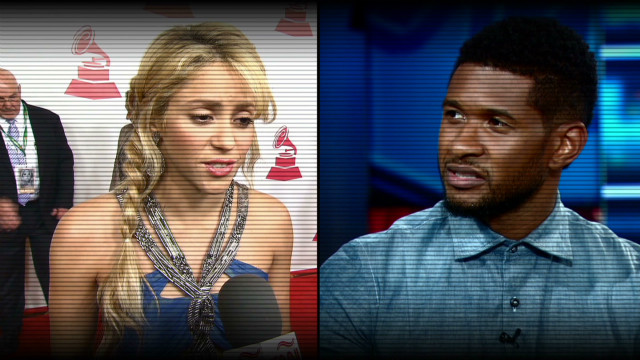 Shakira and Usher join 'The Voice'