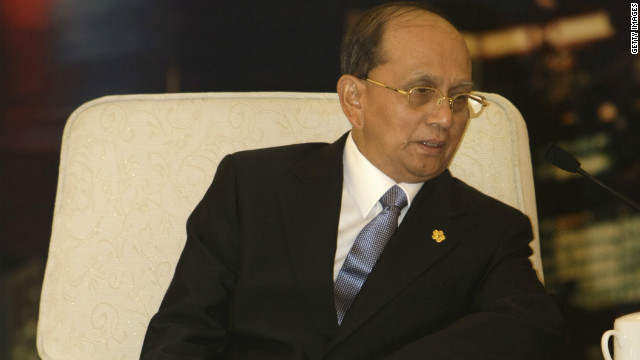 Myanmar President Thein Sein is to address the U.N. General Assembly Thursday.