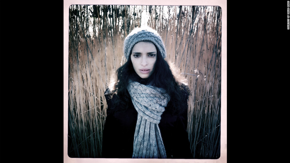 """Malika,"" a portrait of David Rams' girlfriend that he took on his iPhone with Hipstamatic <a href=""http://followgram.me/dramsphoto"" target=""_blank"">Follow David Rams on Instagram.</a>"