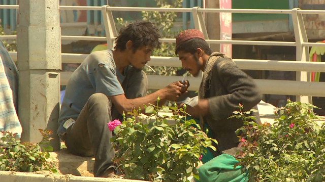 Drug addiction rampant on Kabul streets