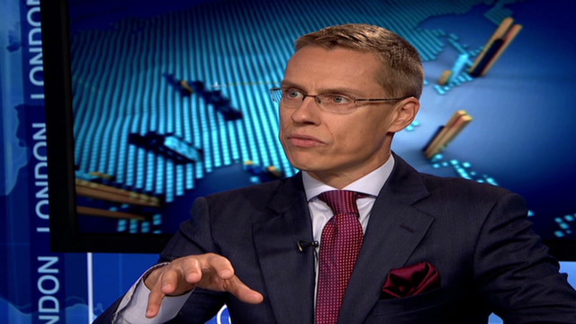 Finnish minister sees 'light' for euro