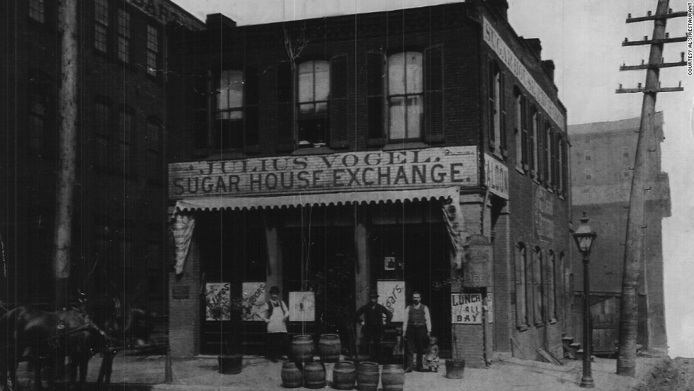 Al's Restaurant in St. Louis opened in 1925 in what was once an old sugar house exchange.