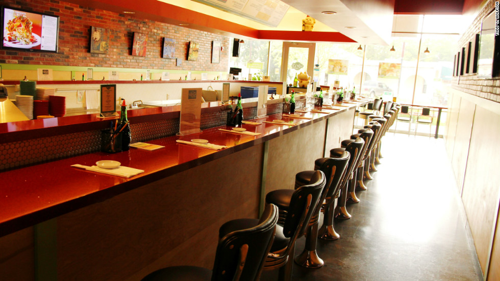"""The Roll On Sushi Diner embraces """"counter culture,"""" with its mish-mash of flavors in a single dish."""