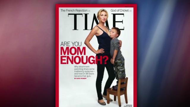 Breastfeeding mom explains cover