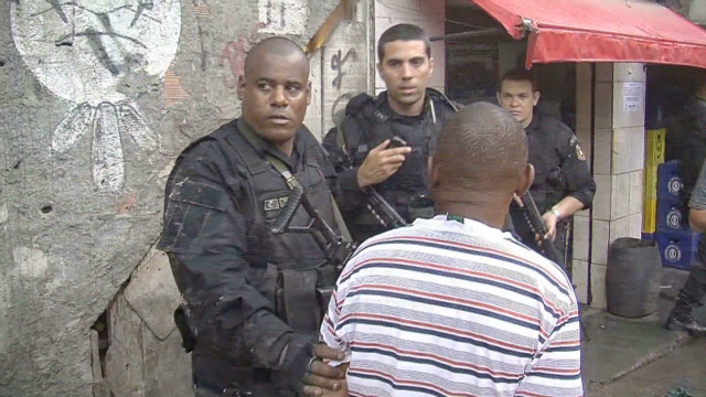 Rio secures favelas ahead of World Cup
