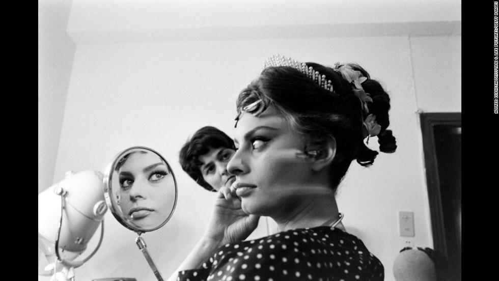 Sophia Loren, 1962.