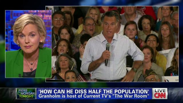 """Granholm on Romney: """"final straw"""""""