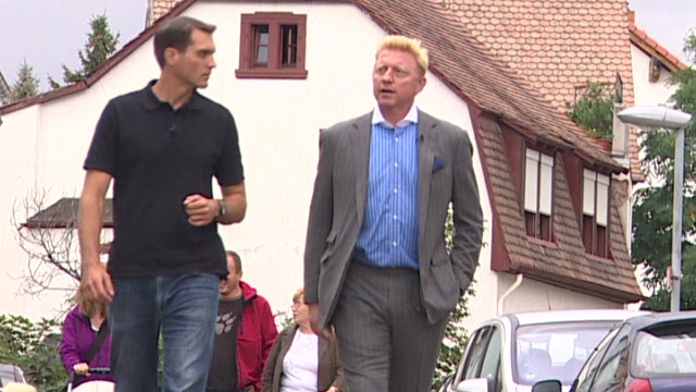 Exclusive: Becker tours hometown