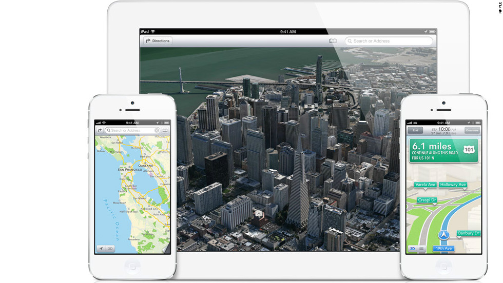 Many users were unhappy with Apple's poorly executed new maps app, which replaced Google maps in its iOS6 mobile operating system. The maps misidentified landmarks, drew a rare apology from Apple CEO Tim Cook and led to an executive shakeup at the company.