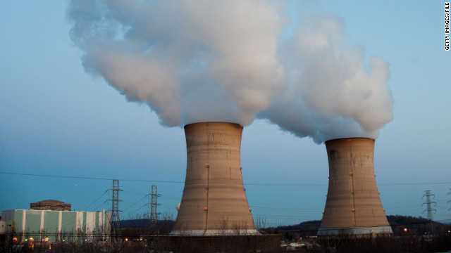 The Three Mile Island Nuclear Plant was shutdown Thursday.