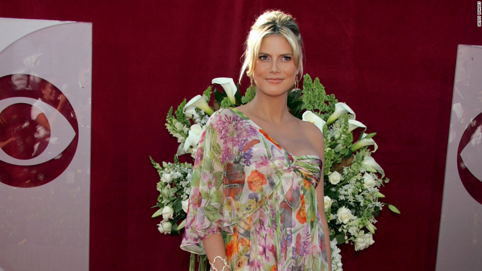 "Heidi Klum hadn't quite mastered maternity chic by the Emmys in 2005. However, she did redeem herself in <a href=""http://www.zimbio.com/pictures/OwJtRoEQzG0/58th+Annual+Primetime+Emmy+Awards+Arrivals/1M2BlwFMLKE/Heidi+Klum"" target=""_blank"">2006</a> and then again in <a href=""http://www.justjared.com/2009/09/20/heidi-klum-emmy-awards-2009-with-seal/"" target=""_blank"">2009</a>."