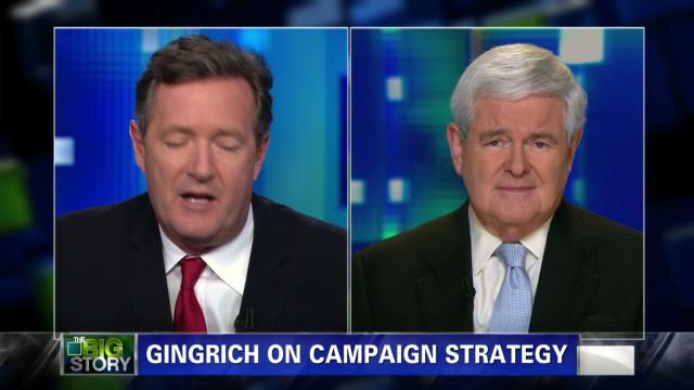 Newt Gingrich on Mitt Romney