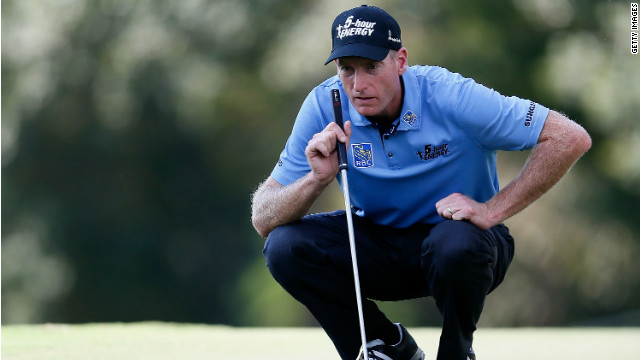 Jim Furyk turned on the style to race to the top of the leaderboard at the Tour Championship following a round of  64.