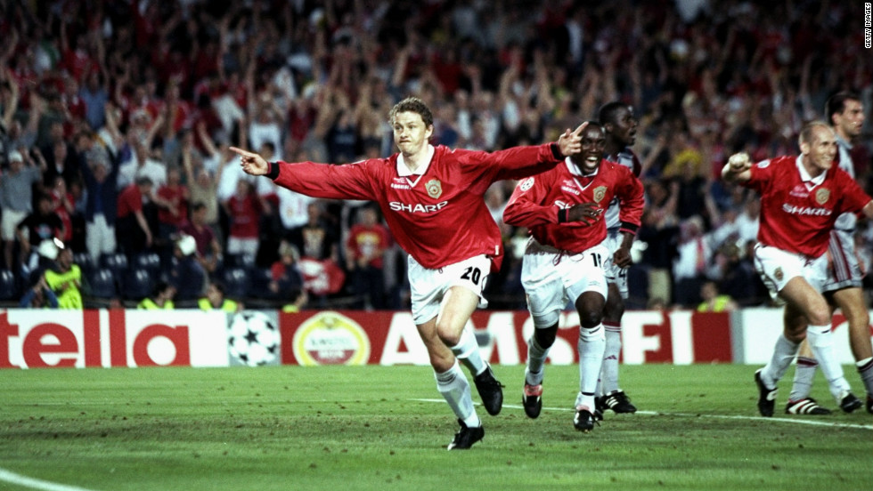 United and Liverpool have both enjoyed success in the European Cup, now known as the Champions League. In the 1999 final, United stunned the footballing world by scoring twice in injury time to beat Bayern Munich 2-1 and complete an historic league, FA Cup and Champions League treble.
