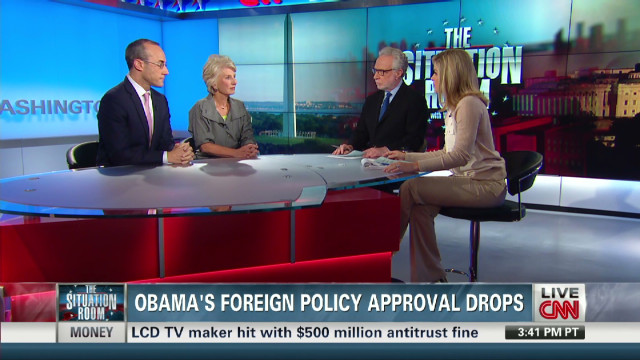 Obama's foreign policy approval drops
