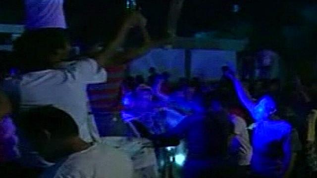 Libyans target Islamist militia base